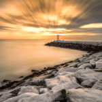 Scituate Lighthouse - Scituate, MA - Long Exposure Sunrise